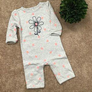 🌟🆕🌟 Baby Girl Polka Dot & Flowers Bodysuit
